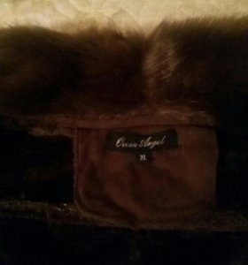 Новая теплая курточка под замшу