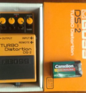 Педаль BOSS DS-2 Turbo Distortion
