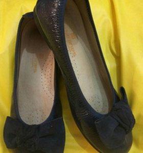 Туфли для девочек размер 35,5-36