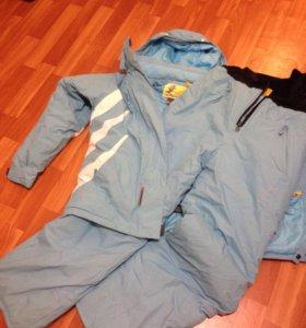 Лыжный костюм(L,+2 куртки)