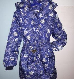 Пальто на тонком синтепоне