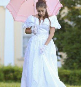Винтажное свадебное платье для фотосессии