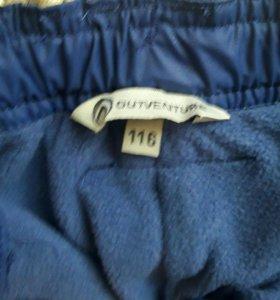 Новые утепленные брюки на флисе для мальчика