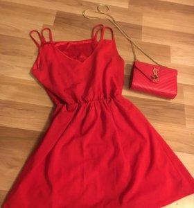 Элегантное красное платье ❣️