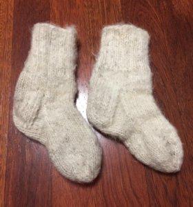 Носки детские вязаные.