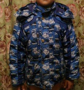 Куртка зима мальчику