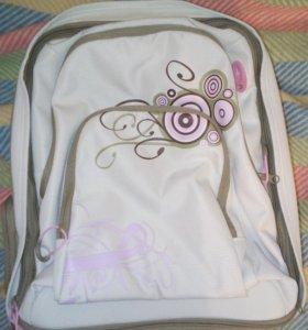 Рюкзак для девочки, новый