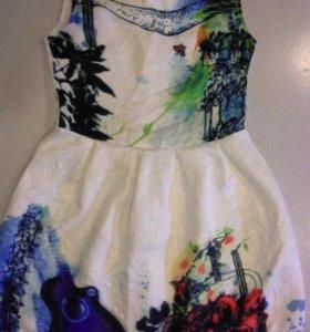 Платье для девочки 9-11 лет