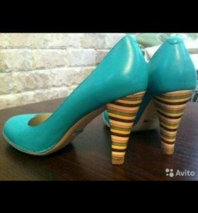 Новые кожаные туфли от Calipso
