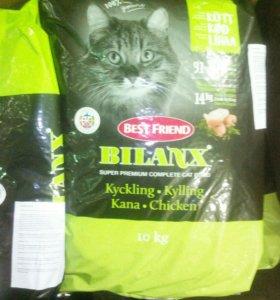 Корм для кошек bilanx chicken 10 кг, доставка
