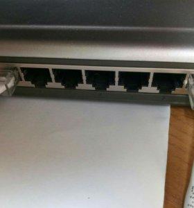 Свитч D-Link до 100 мб/с