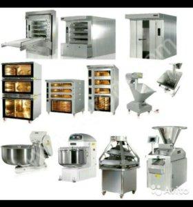 Оборудование для хлебопекарни.