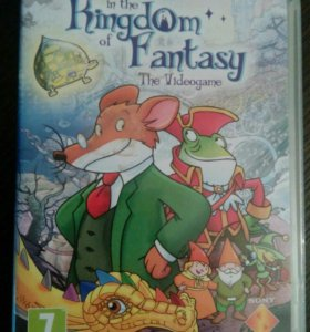 Игра для PSP SONY - Geronimo Stilton