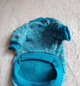 Утеплённый свитер для собак мелких пород