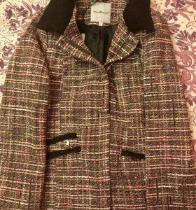 Пальто пиджак блейзер в стиле Шанель