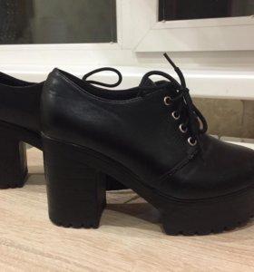 Ботильоны туфли на осень