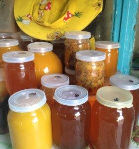 Мёд крымский,акация,кореандр,подсолнух,разнотравье