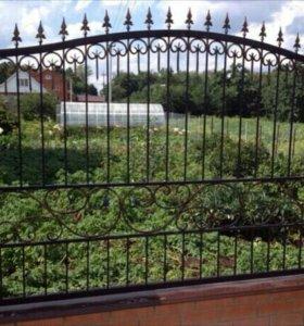 Забор. Ковка