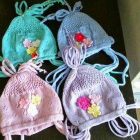 Новые шапочки для девочек