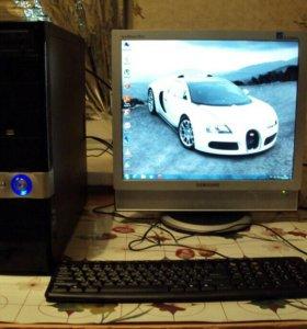 Компьютер с Монитором с ТВ тюнером