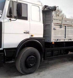 Аренда бортовой машины МАЗ - 6 метров - бортовая
