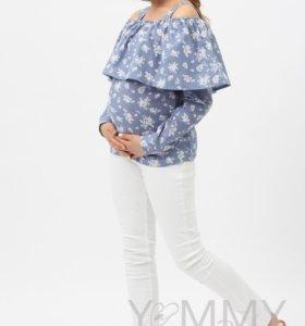 Новая блуза для беременных и кормления 44