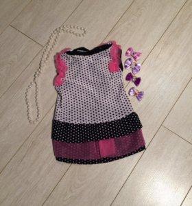 М Платье ( одежда для собак)