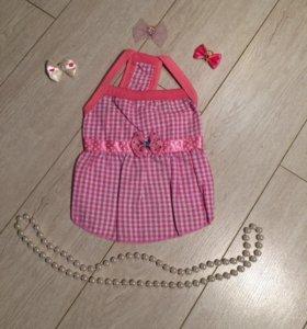 S-M Одежда для собак (сарафаны)