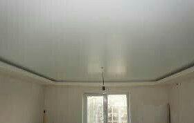 Сатиновые натяжные потолки LONDON71