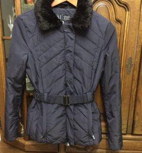 Куртка  -пуховик Armani jeans