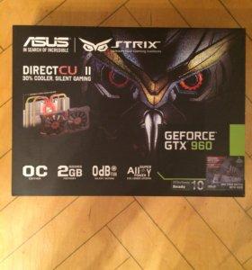 Игровая видеокарта GTX 960 Strix OC edition