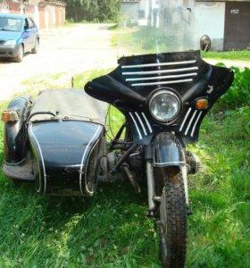 Мотоцикл Днепр с коляской МТ-1036