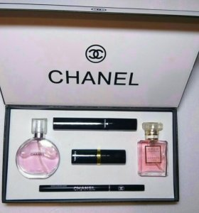 Новый набор шанель 5 в 1 Chanel Present Set 3