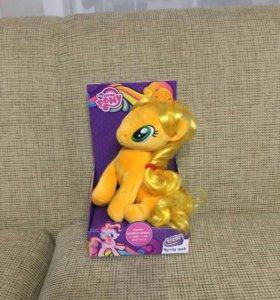 Золотая пони из мультика