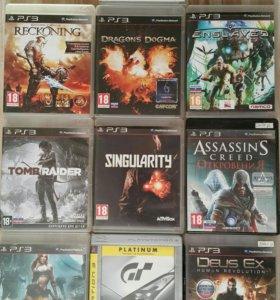 Продам игры для PlayStation 3