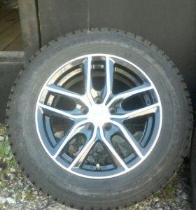 Зимние колёса на литых дисках