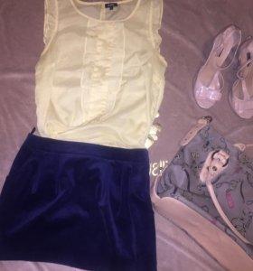 Блуза с юбкой