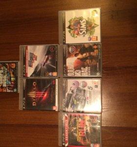 PlayStation 3+7 игр торг!!
