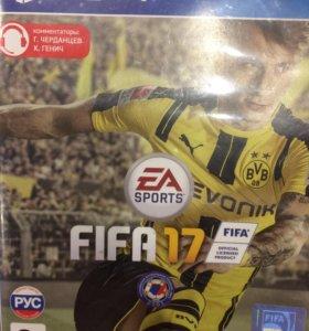 Продам фифа 17 PS4