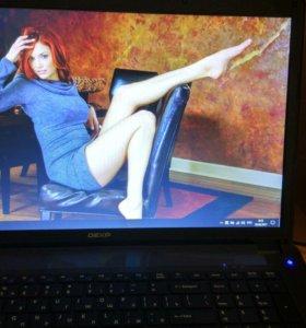 Мощный игровой ноутбук 17.3 DEXP