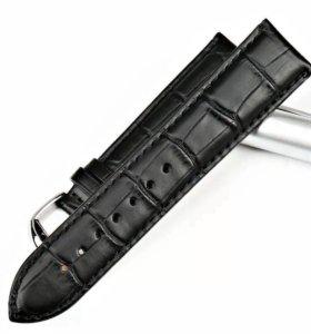 Черный кожаный ремешок