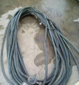 Газосварка 43 метра шланга