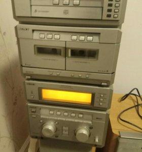 HiFi музыкальный центр Sony MHC-NX3AV