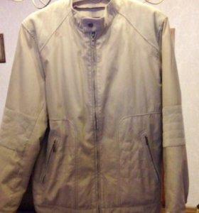 Мужская куртка с отстегивающимся утеплителем. 54.