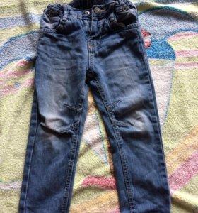 Джинсы брюки детские