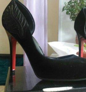 Туфли женские бархотные