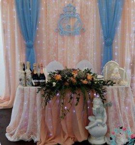 Оформление свадеб ( не шары )