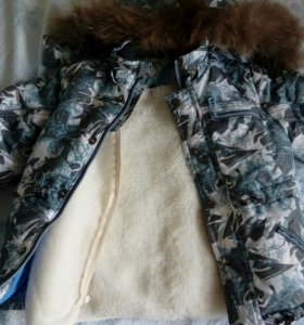 Зимняя куртка на мальчика 104-110