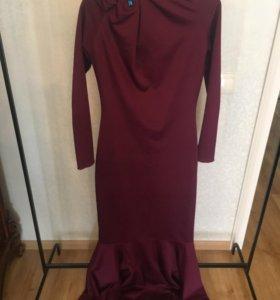 Элегантное платье в пол