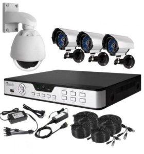 IP сетевые видеокамеры HD - full HD